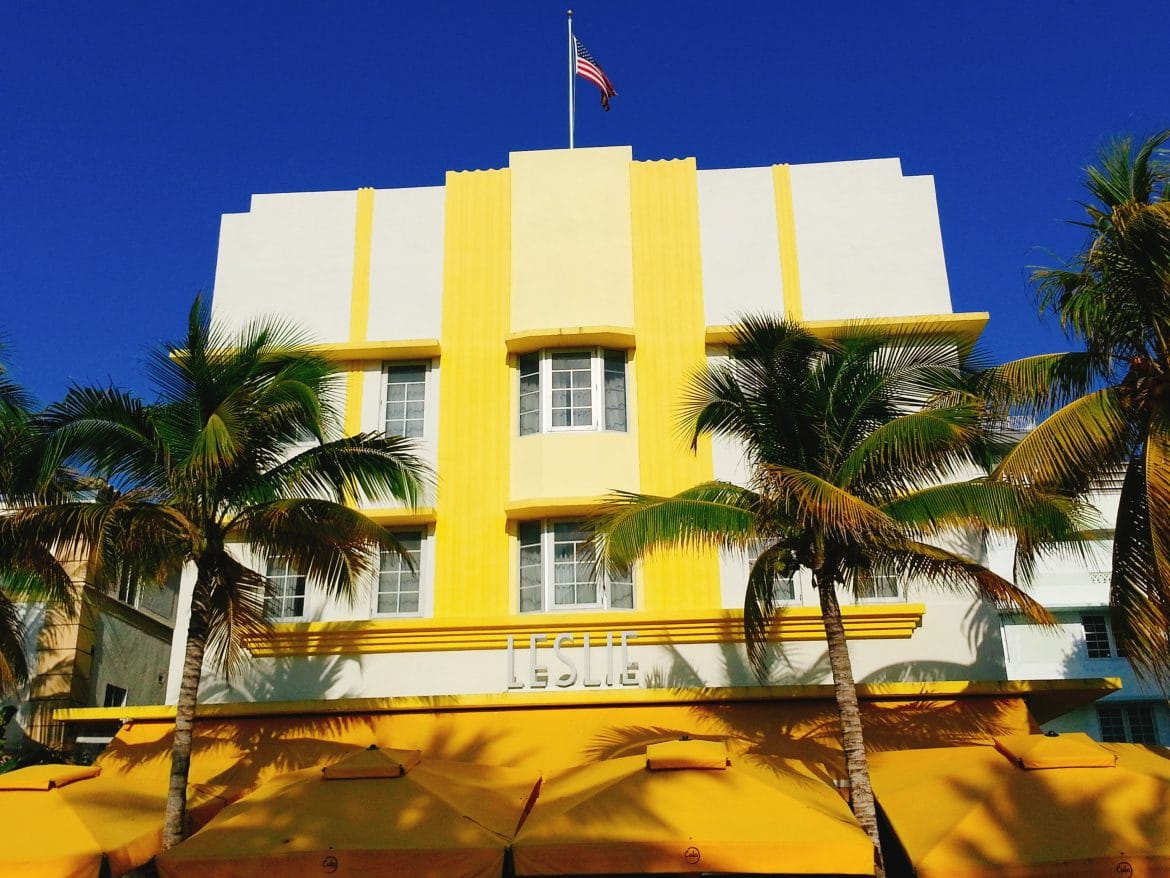 leslie art deco miami beach florida