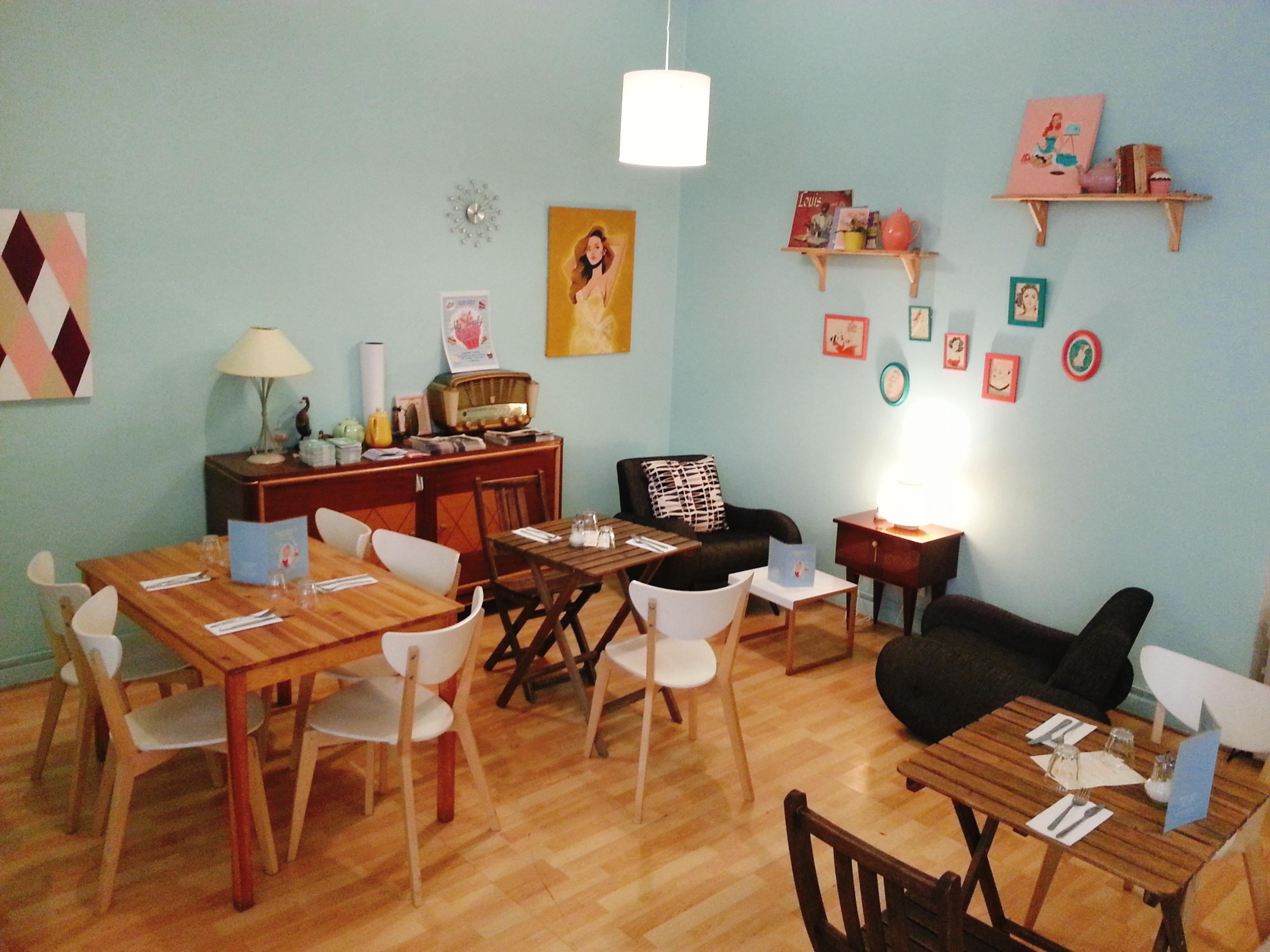 laureline's corner salle du restaurant cosy