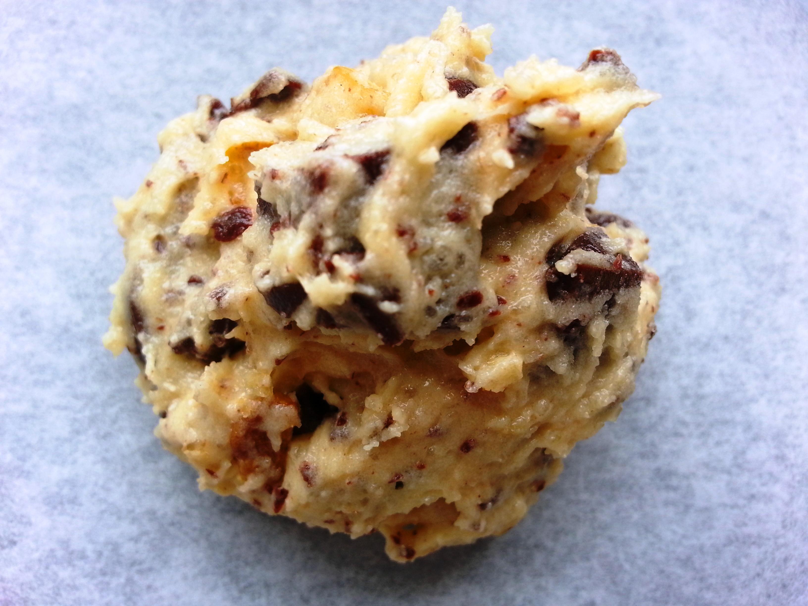 pate de cookie chocolat noix