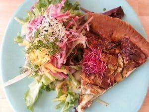 quiche salade laurelin's corner lyon