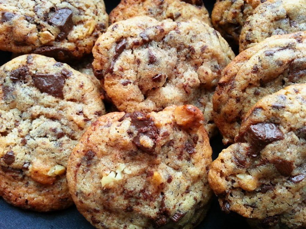 recette cookies maison chocolat noix
