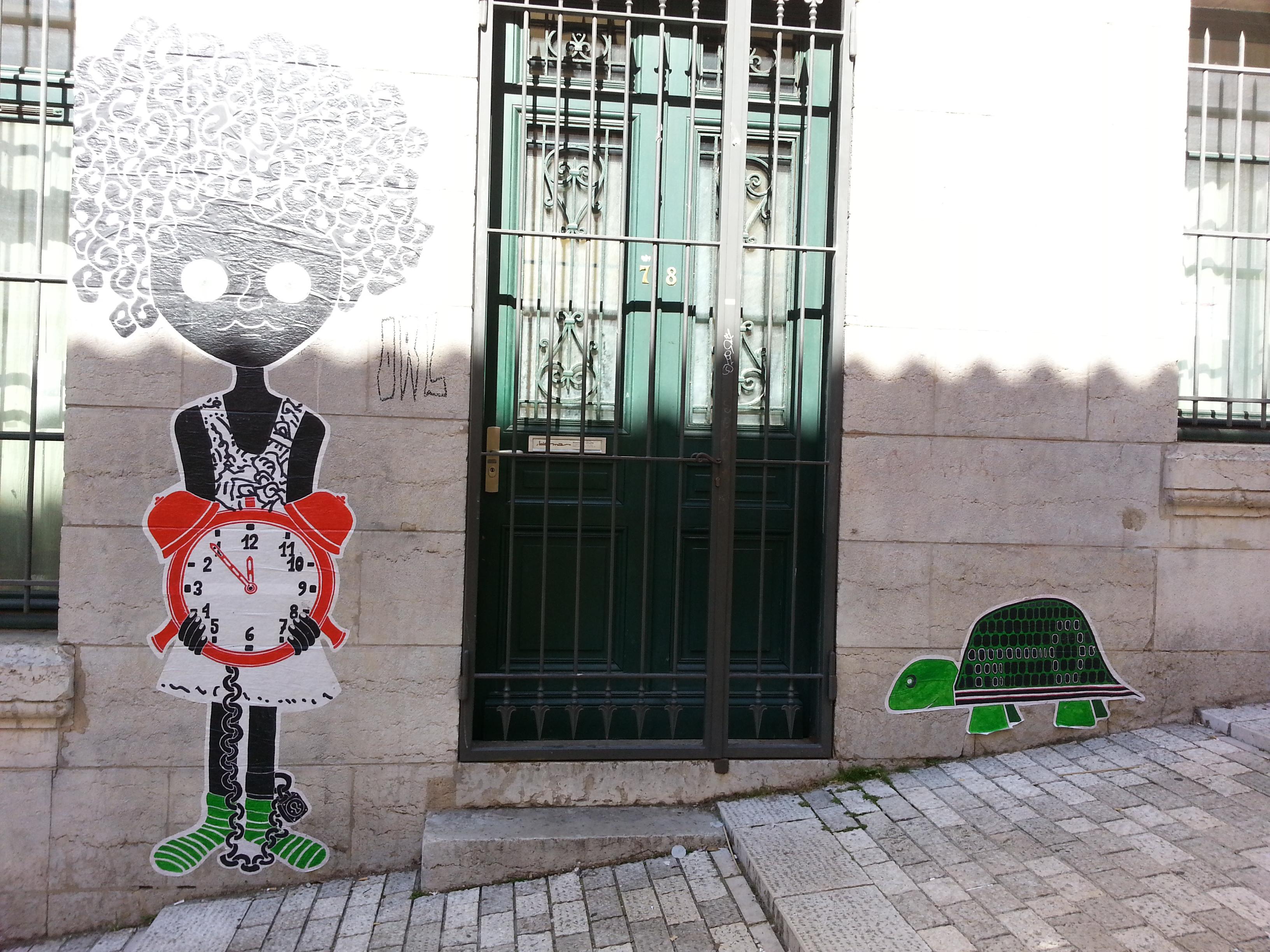 street art pentes croix rousse lyon 14