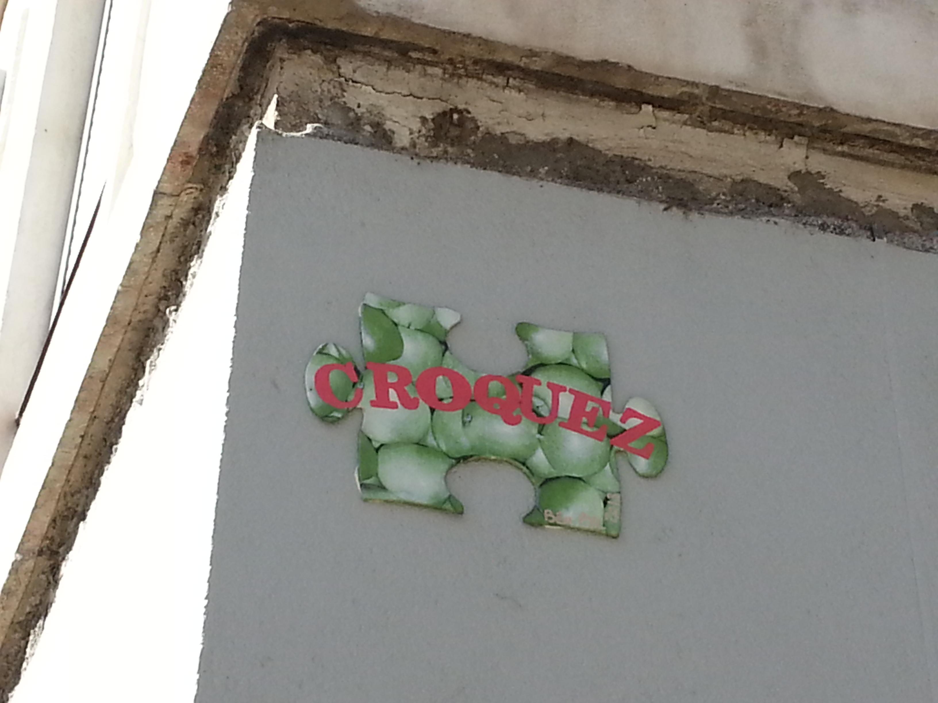street art pentes croix rousse lyon 21 puzzle