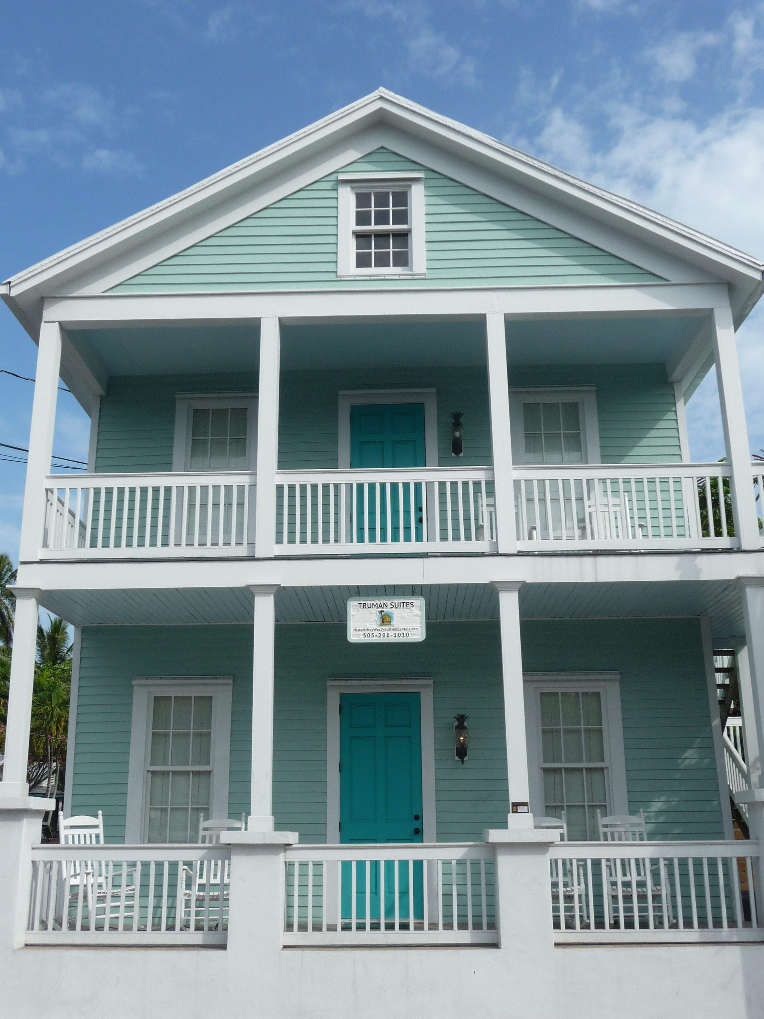 maison bois key west tropical