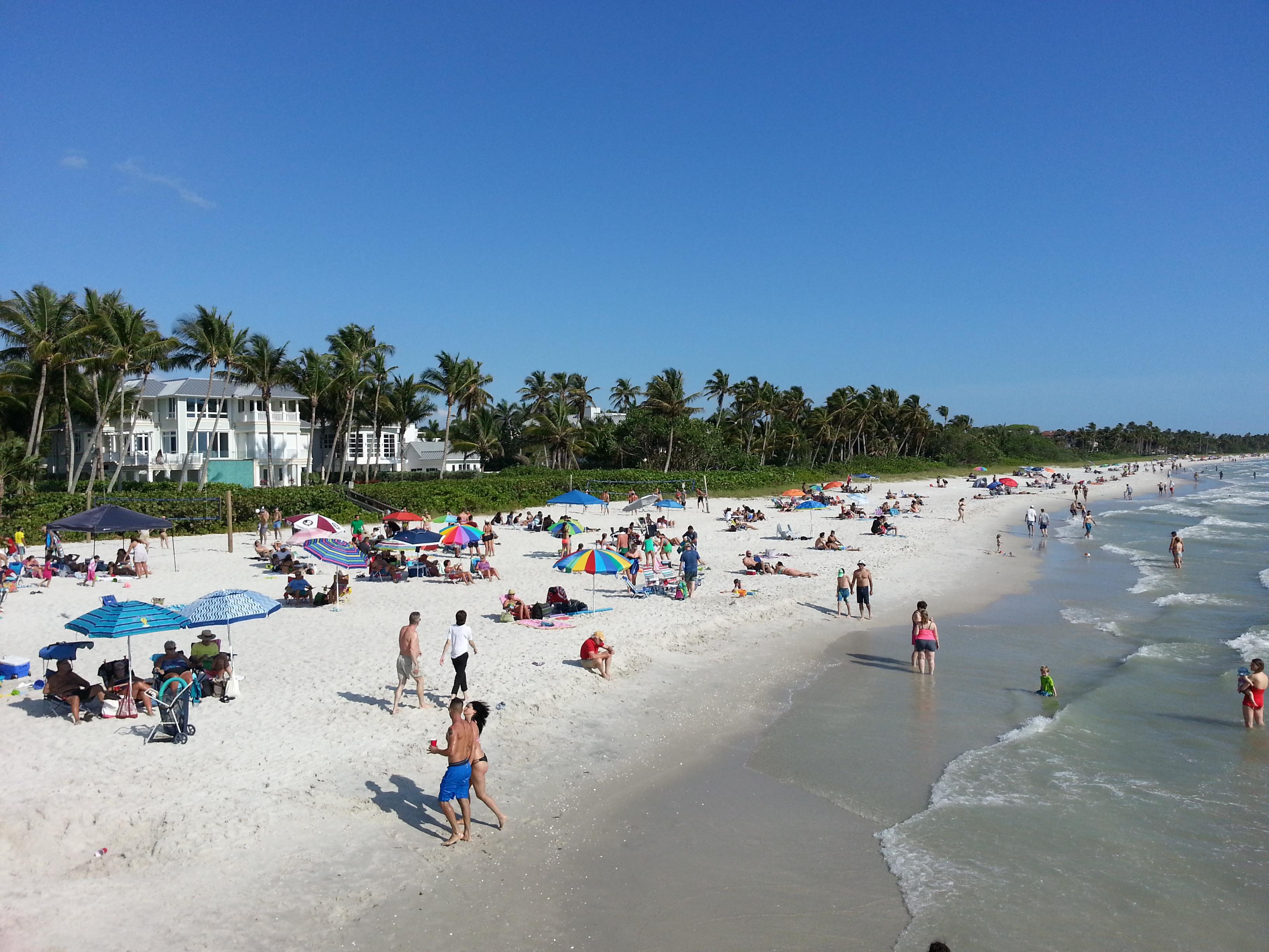 naples beach plage