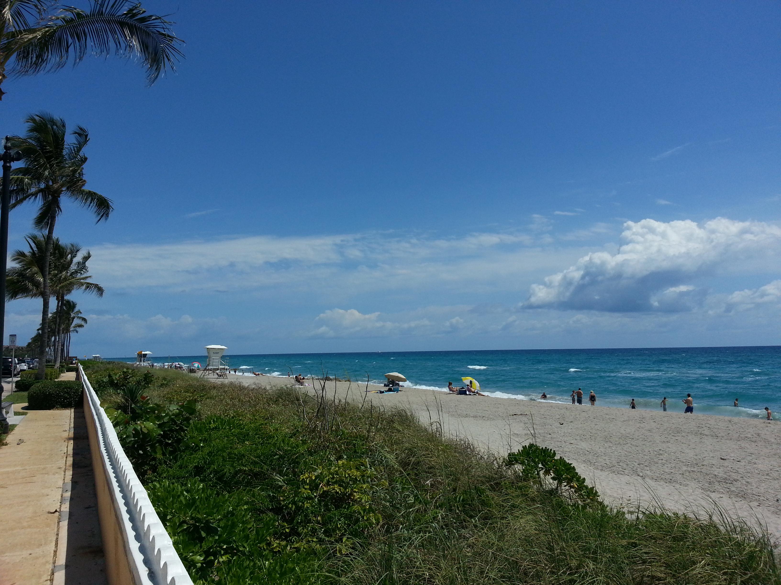 plage palm beach