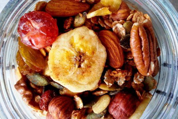 recette granola maison bocal