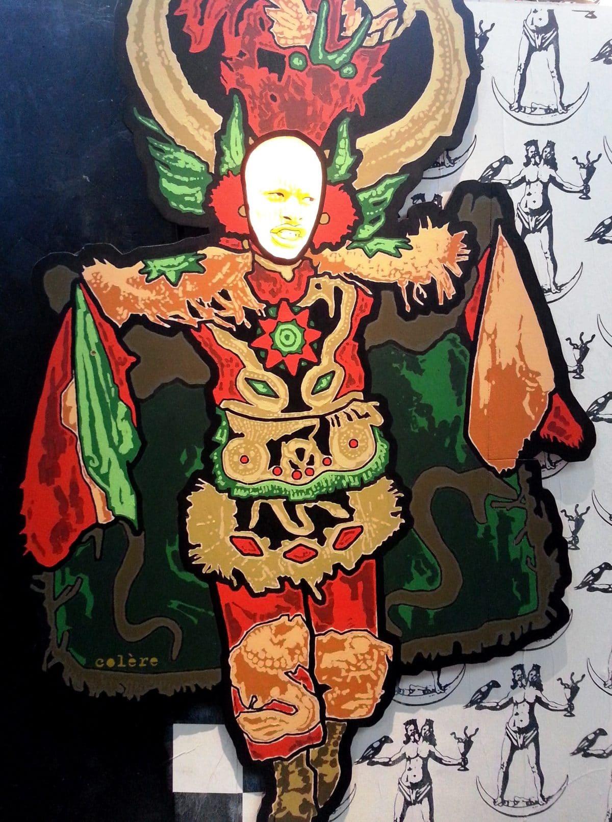 JBC la comédie divine street art paris malakoff la réserve