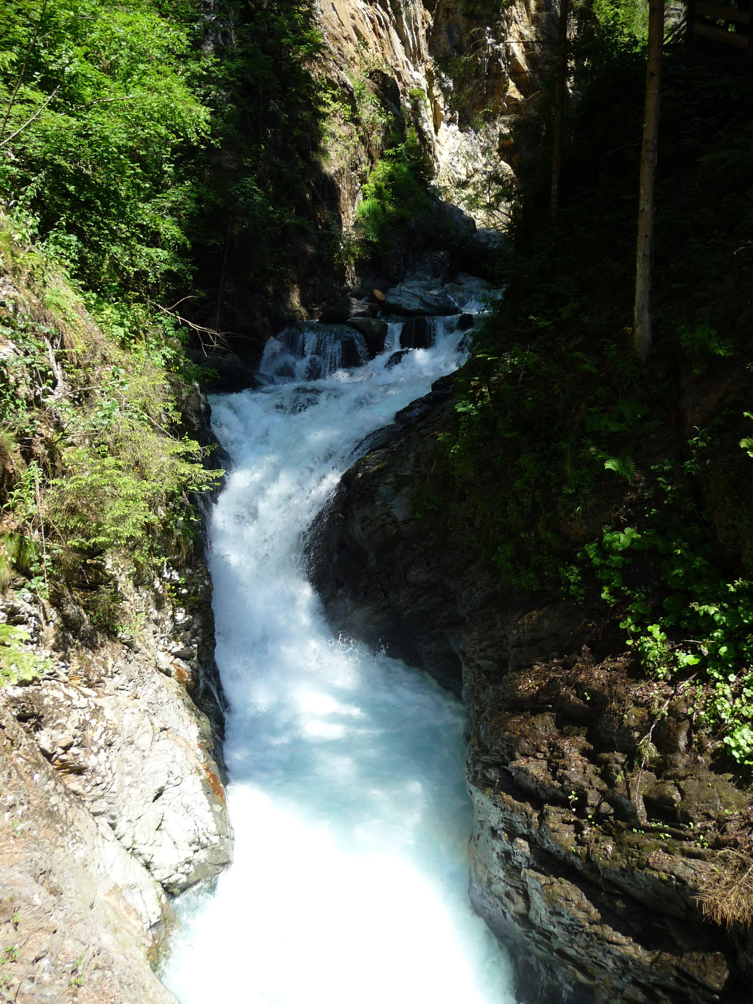 cascade barrage edf gorges diosaz