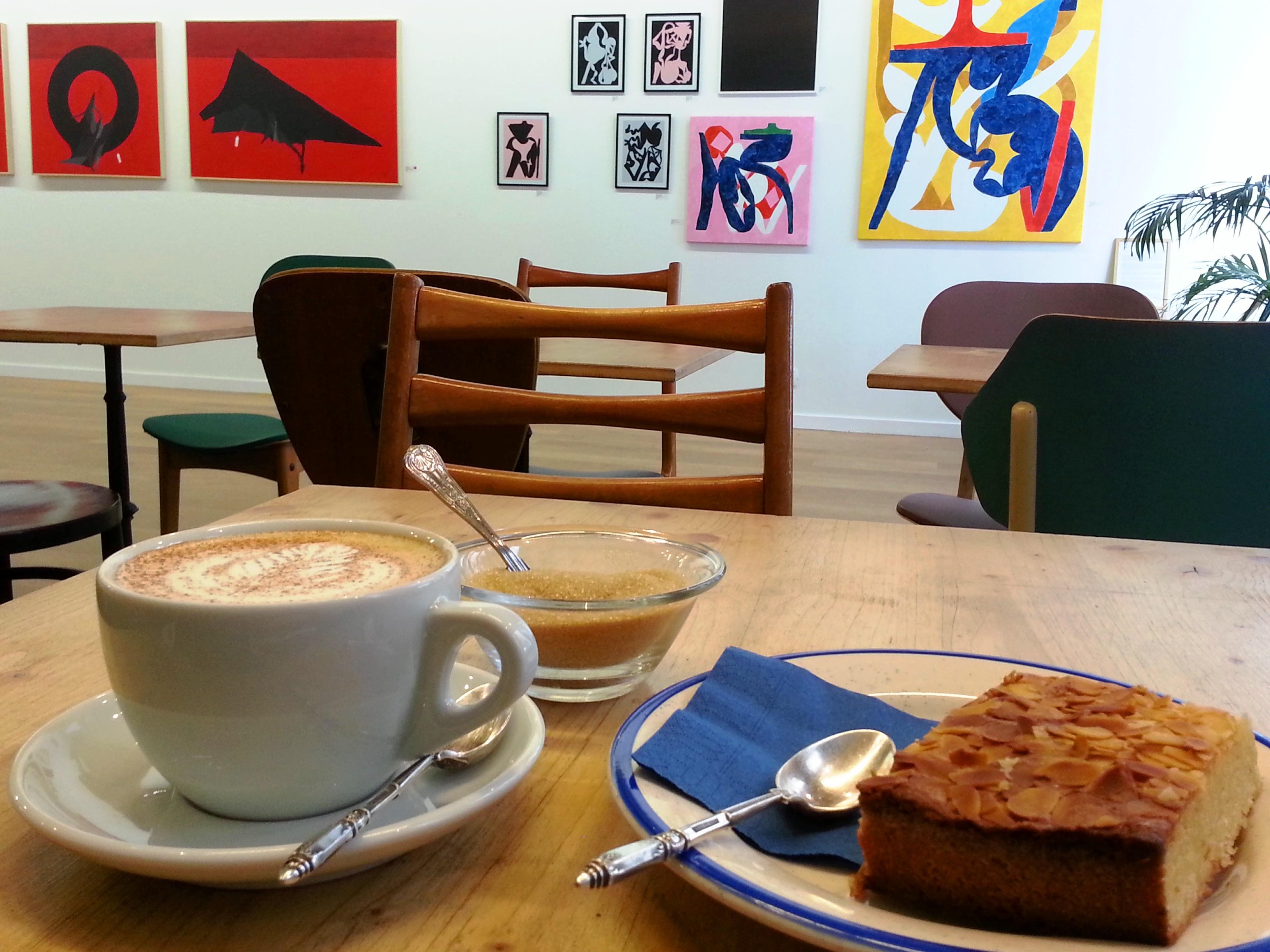 chai tea latte gateau aux amandes slika galerie lyon presqu'ile