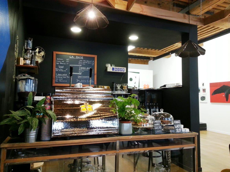 comptoir coffee shop galerie slika lyon remparts d'ainay
