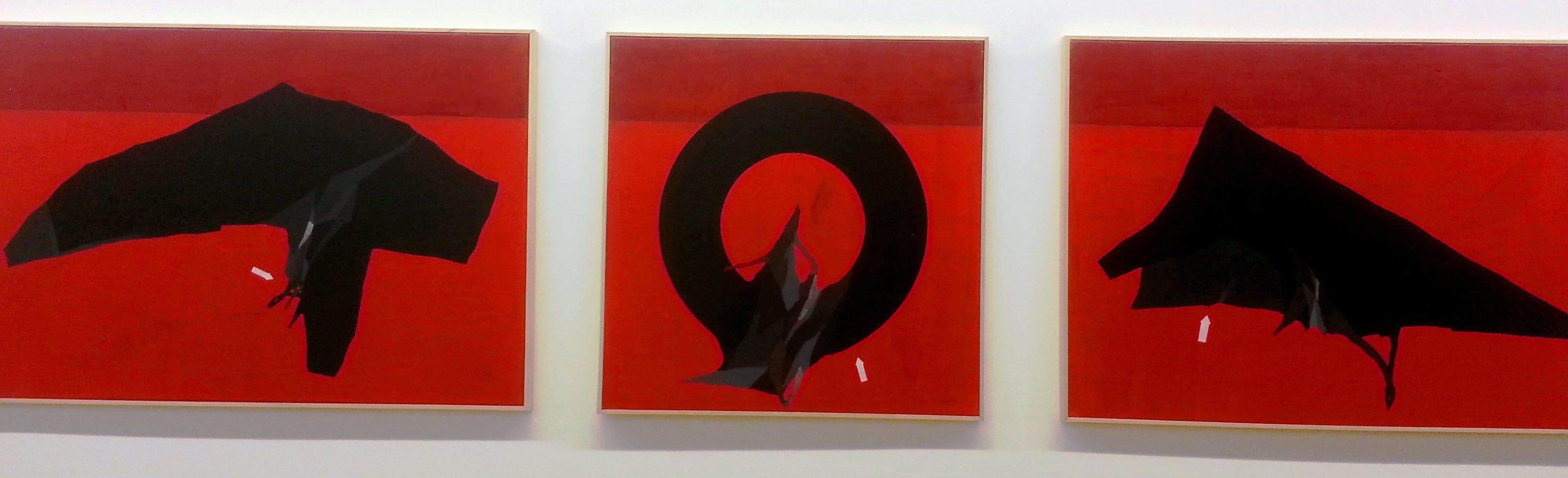 galerie slika lyon peinture 108 red tryptic expo toujours beton