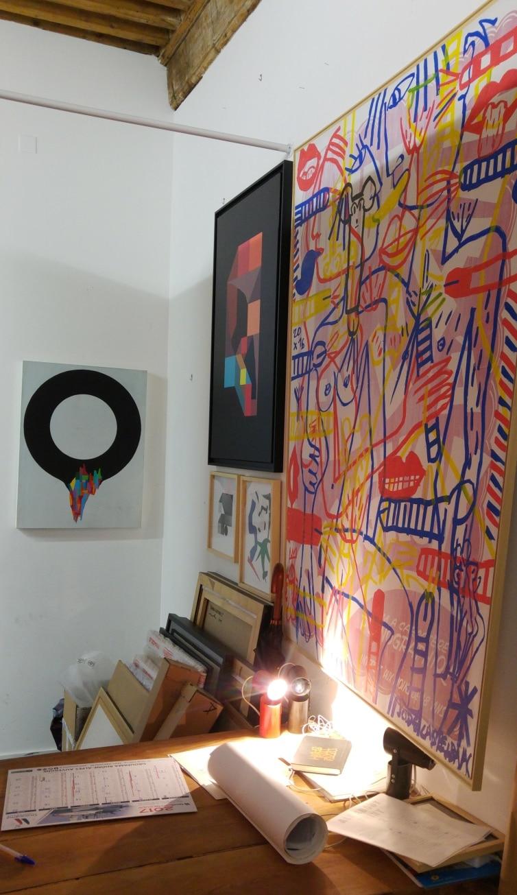 slika galerie street art lyon remparts d'ainay