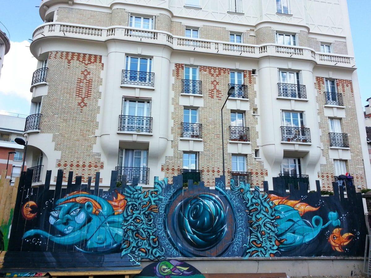 street art cour intérieure la réserve malakoff