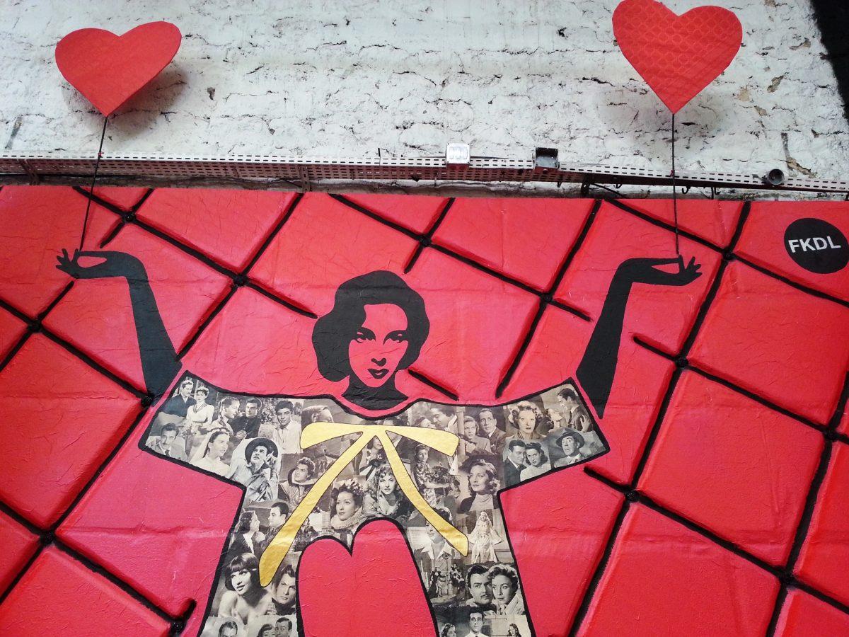 street art paris malakoff la réserve FKDL cabaret
