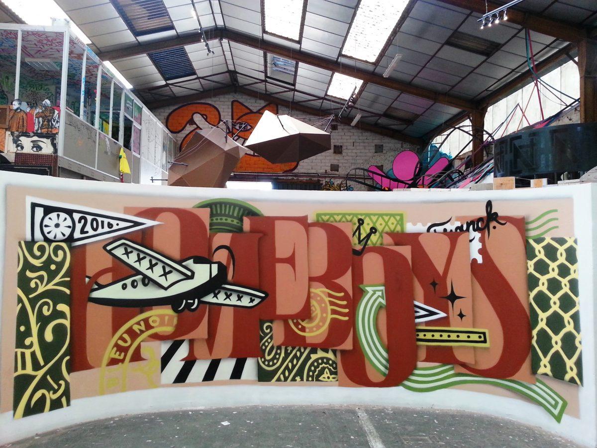 street art paris malakoff la réserve JBC hérésie