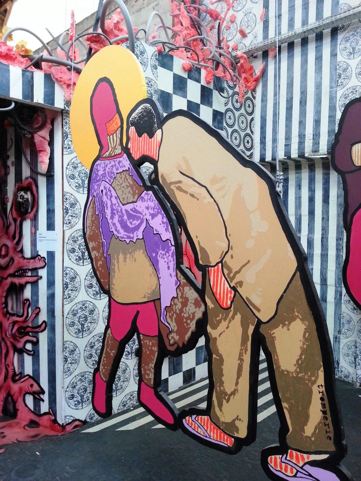 street art paris malakoff la réserve tromperie JBC