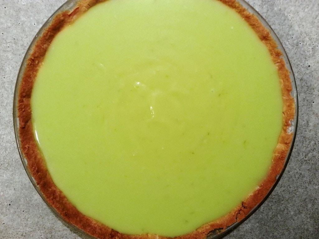 tarte au mojito recette menthe citrons verts rhum
