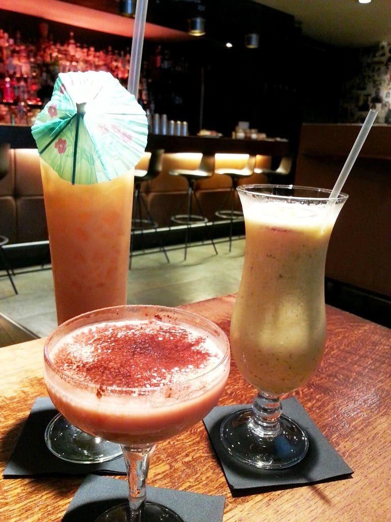 tiramisu martini basil berry cooler pina colada soda bar lyon