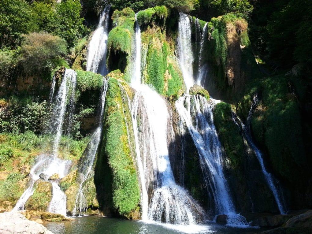 glandieu cascade chute d'eau