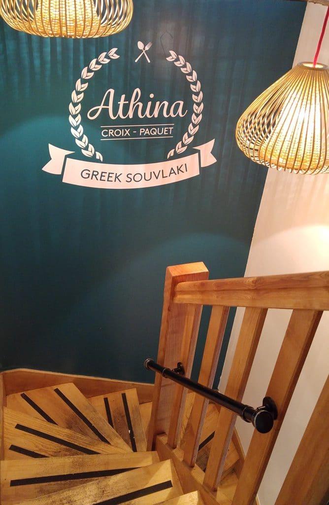 escalier-athina-restaurant-grec-lyon