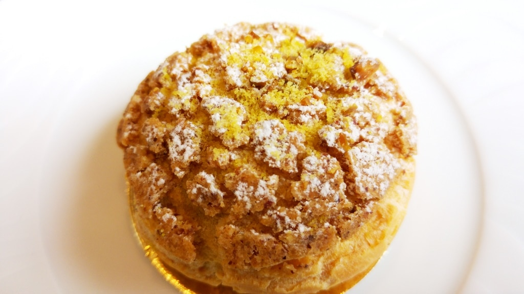 kaova cafe lyon 7 dessert chou pistache vanille