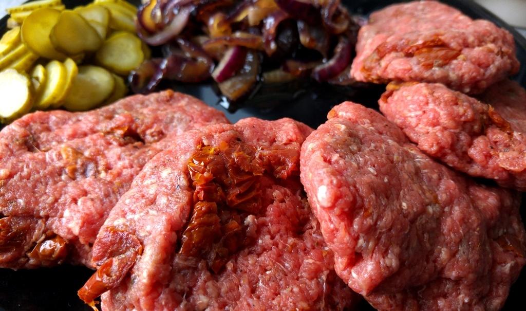 recette de burger normand steak camembert pomme lard