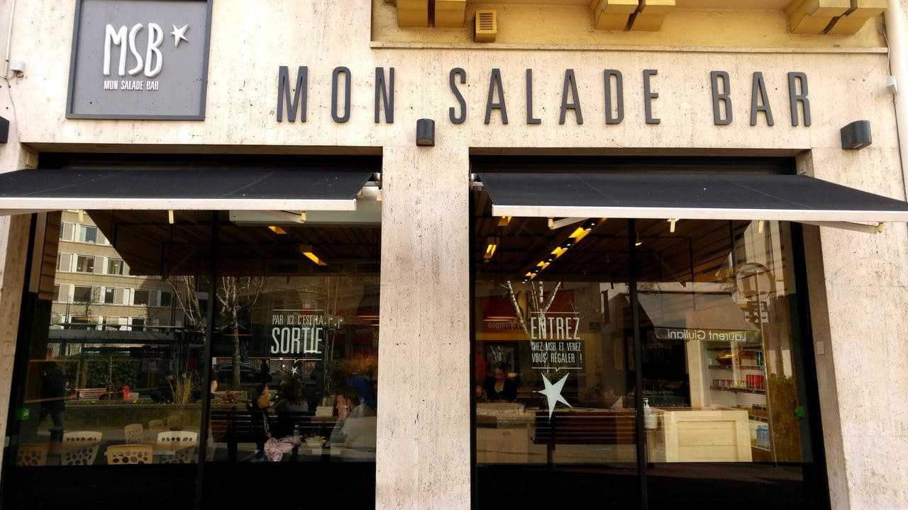 bar a salade pause dej lyon