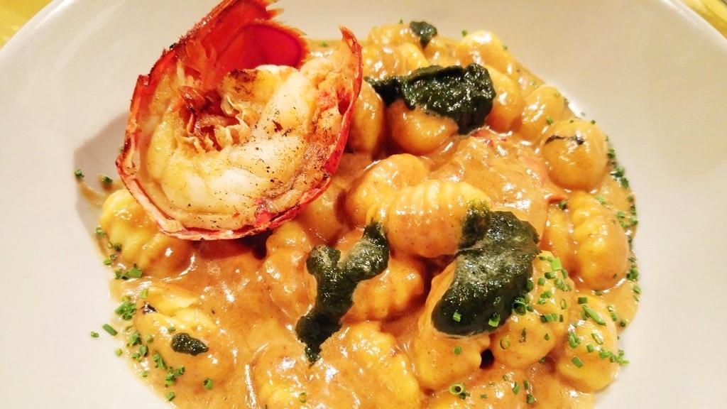 gnocchis homard valenti italie lyon