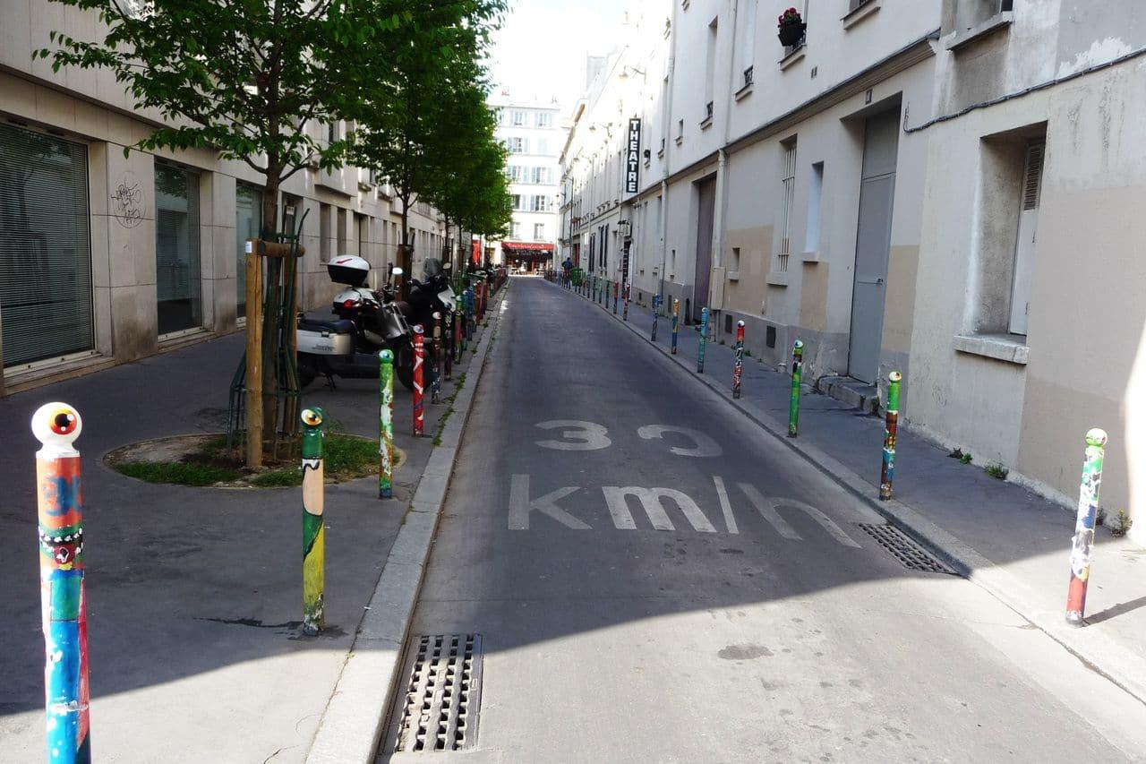 rue du morvan art urbain