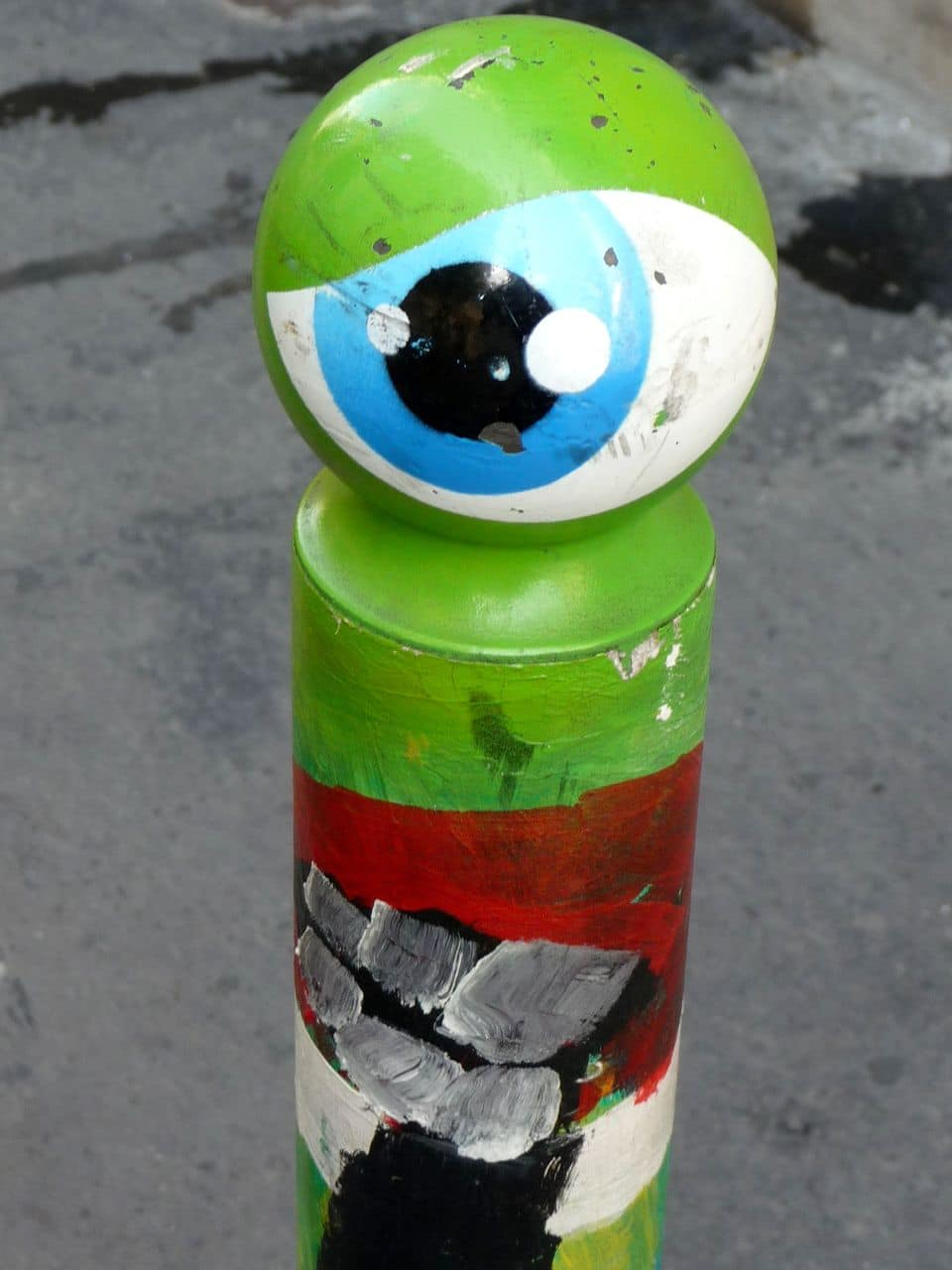 rue du morvan cyklop street artiste