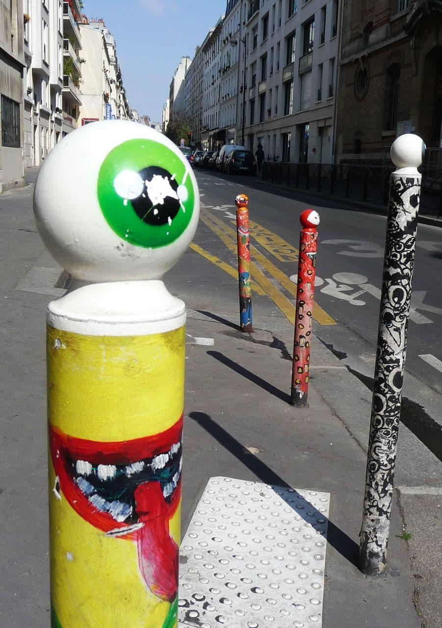 rue du morvan paris urban art
