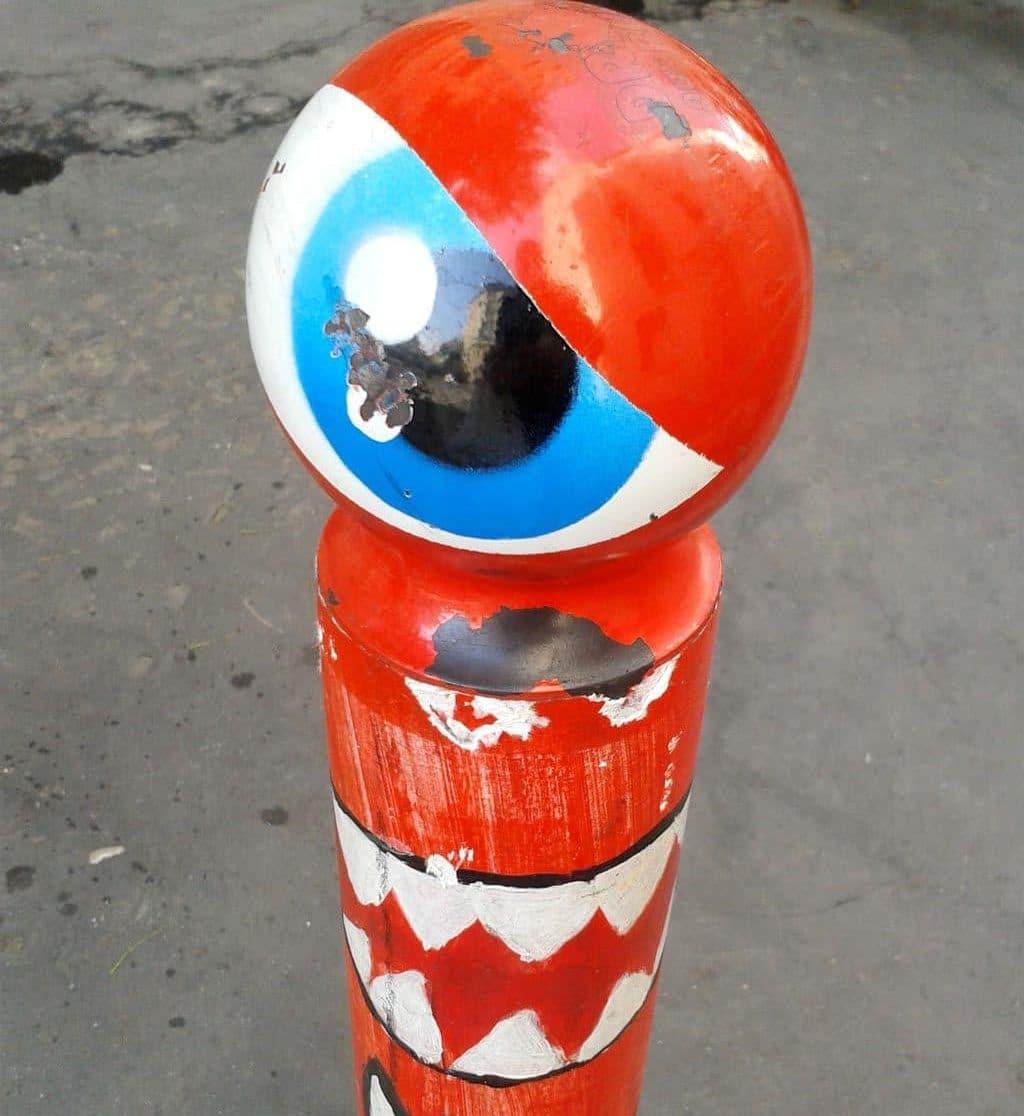 rue du morvan street art