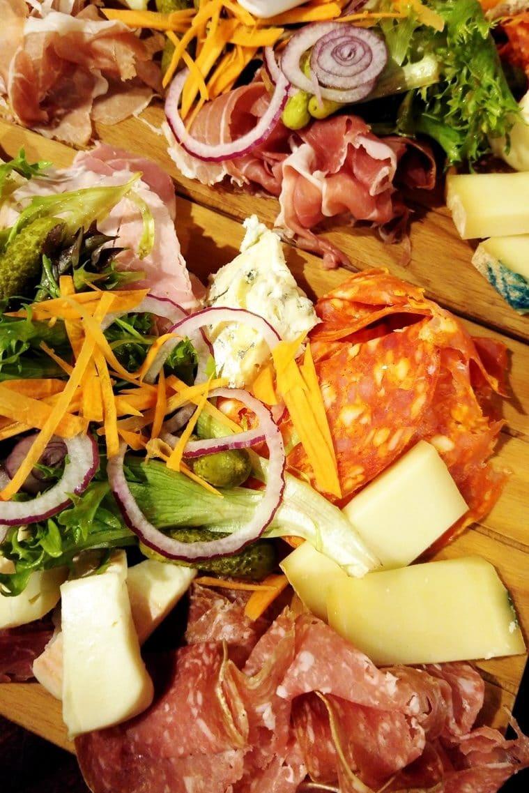 bistrot de la botte fromages charcuterie lyon