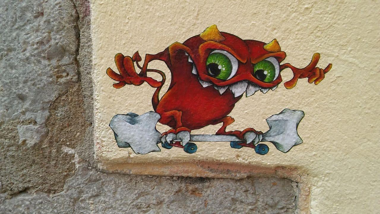cap phi monstre lyon street art