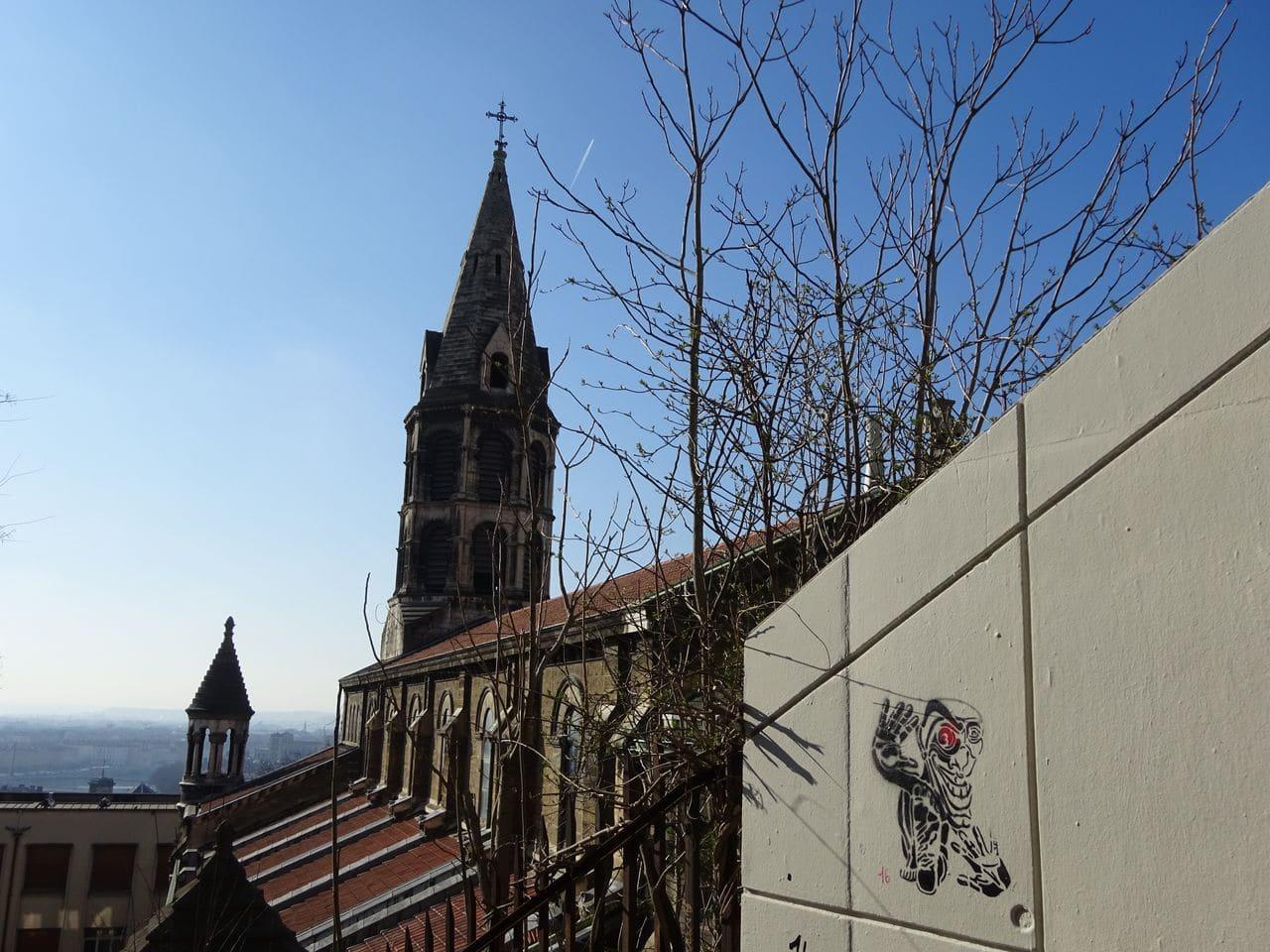 kilroy street lyon montée neyret croix rousse