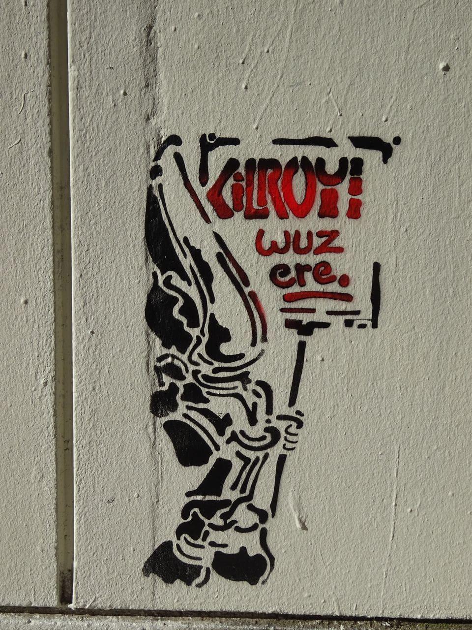 kilroy was here lyon street art