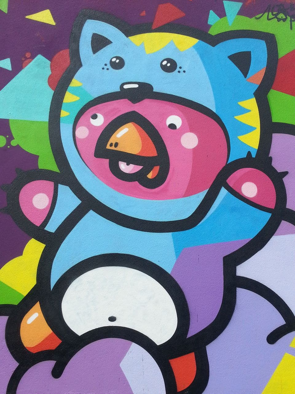 place des tapis street art croix rousse