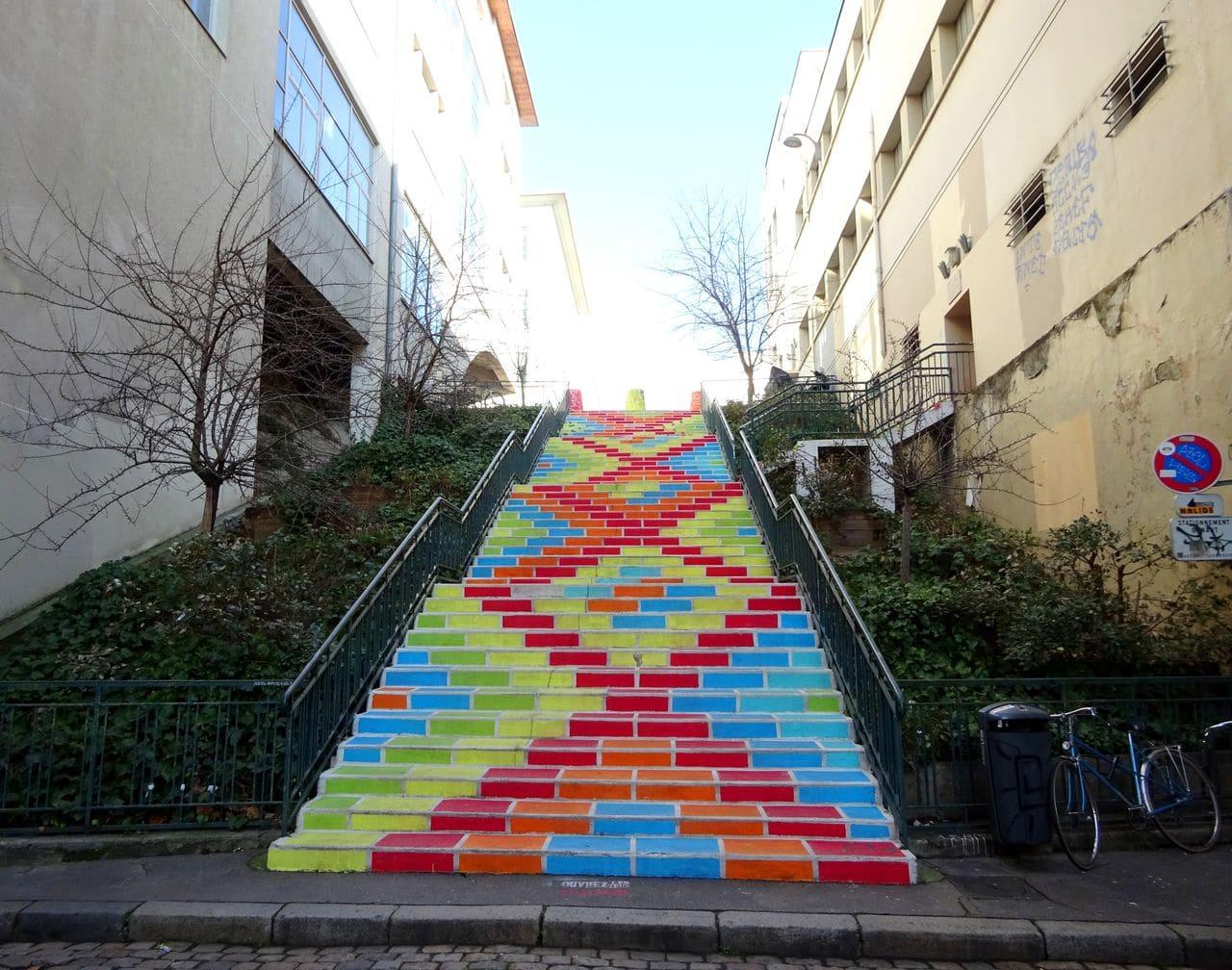 rue prunelle street art lyon
