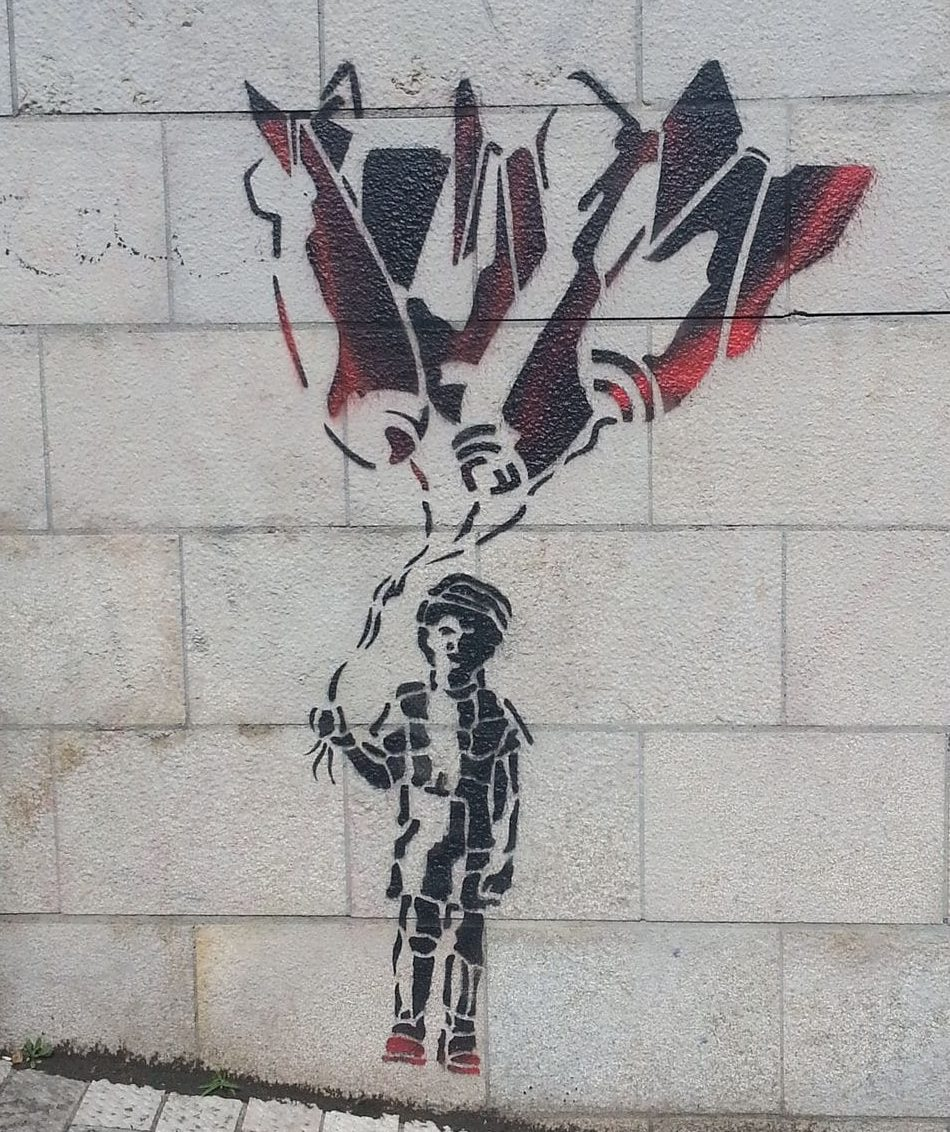 street art by dav lyon