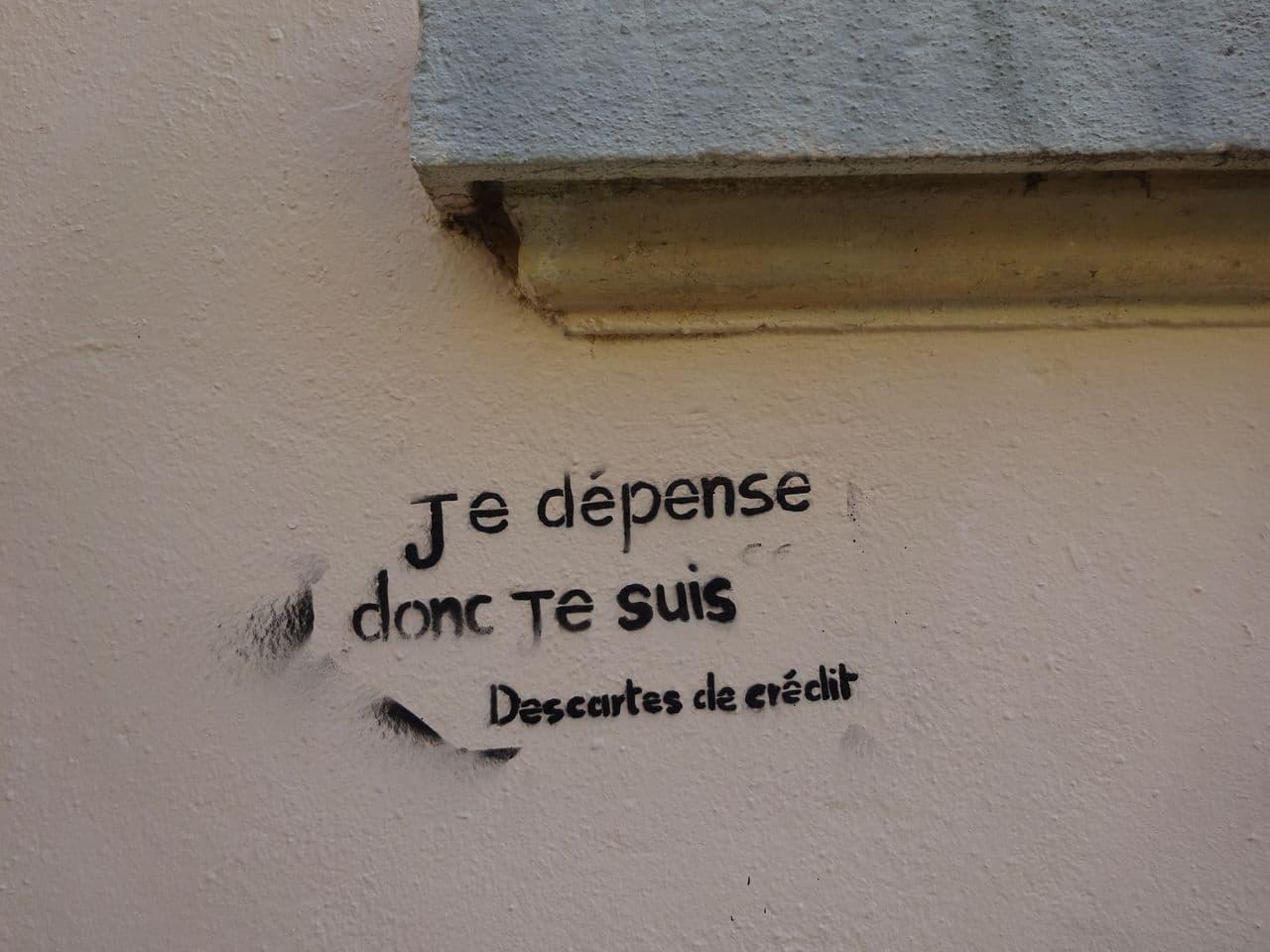 street graffiti descartes lyon pentes