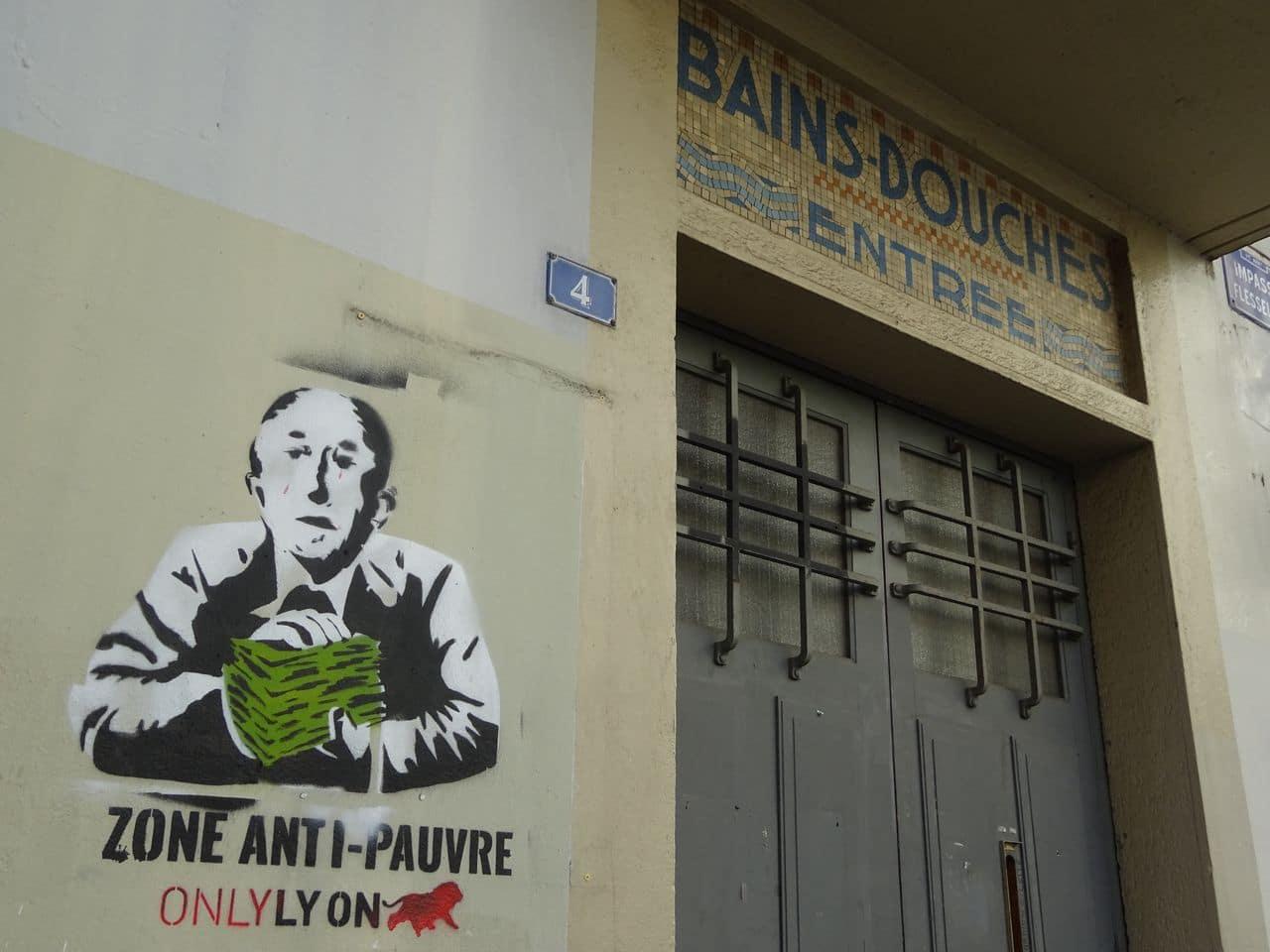 zone antipauvre street art lyon