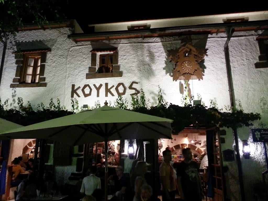 koykos restaurant où manger rhodes
