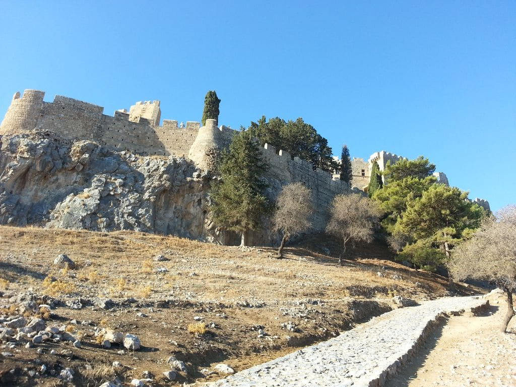 lindos chateau acropole