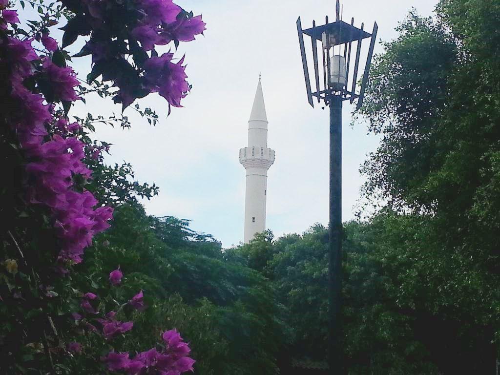 rhodes minaret mosquee