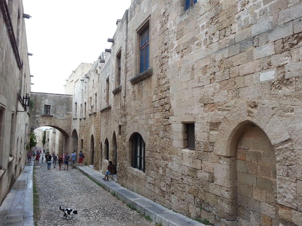 rhodes rue des chevaliers