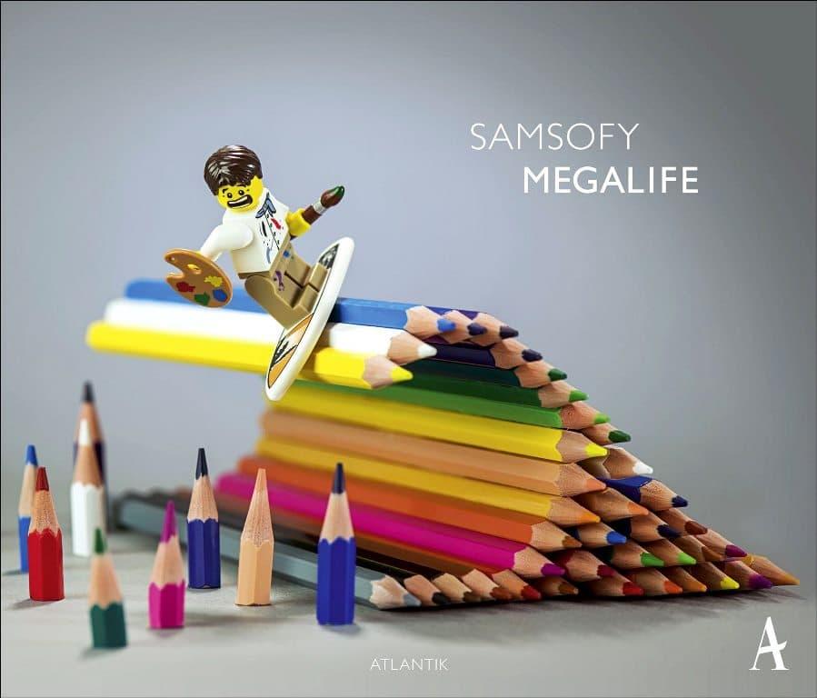 Samsofy lego art megalife street art urbain lyon