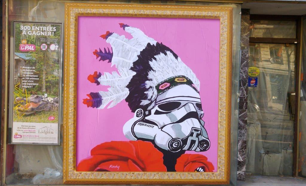 happycurio garibaldi trooper star wars plume rauky affiche