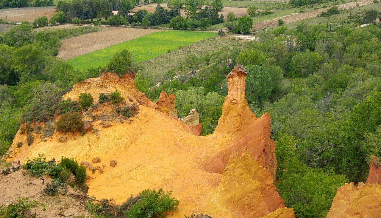 happycurio les cheminées ocres colorado provencal visite insolite