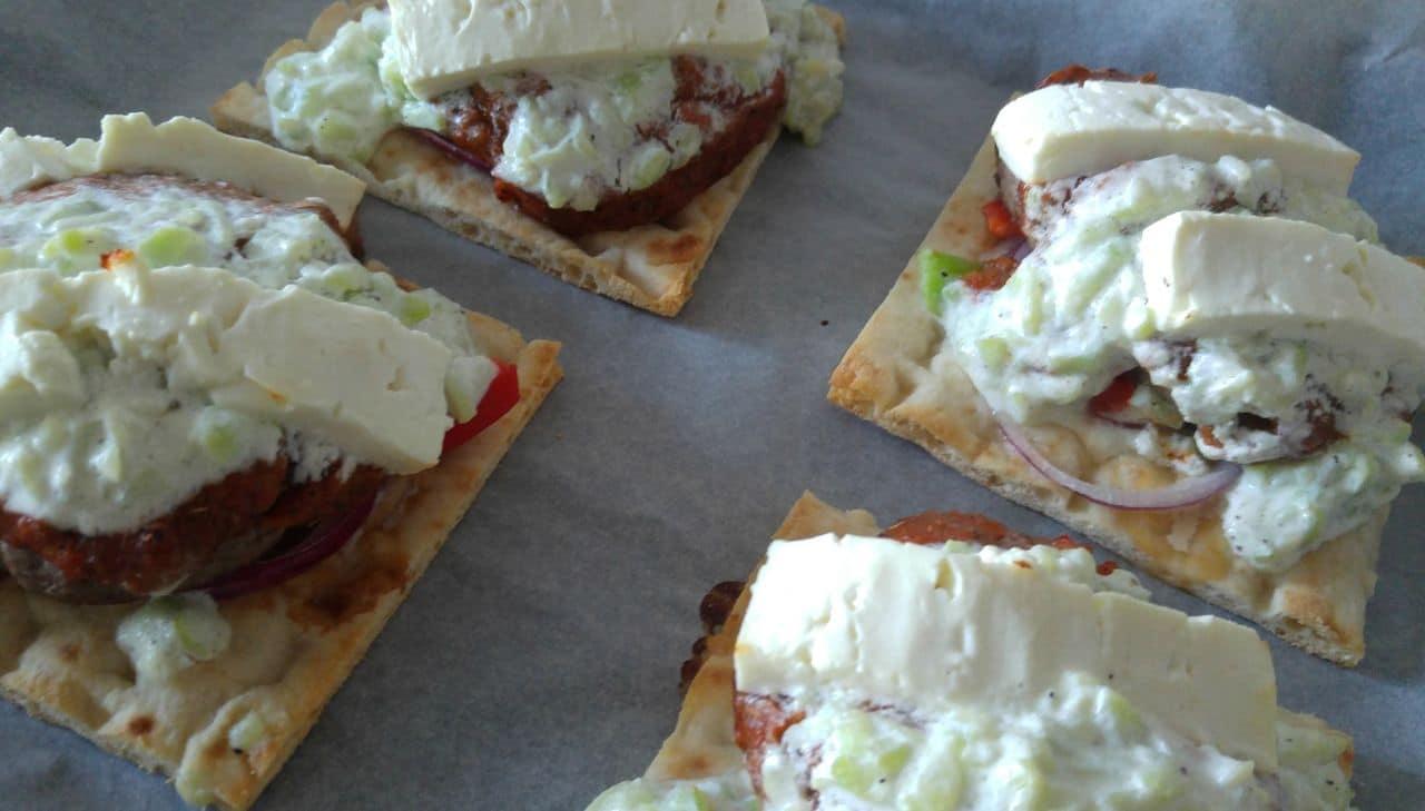 happycurio pita façon burger grec